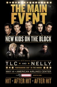 New Kids On The Block + TLC + Nelly