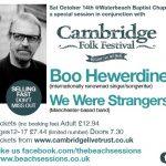 Beyond the Cambridge Folk Festival: Boo Hewerdine & We Were Strangers at Waterbeach Baptist Chapel