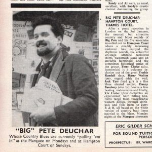 Big Pete Deuchar: 1958-60