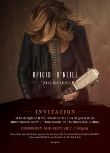 Brigid O'Neill – new album ahoy!