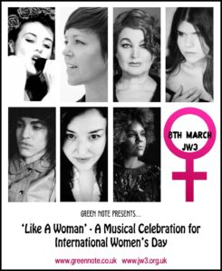 'Like A Woman' Concert For International Women's Day