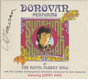 DONOVAN – Performs Sunshine Superman at the Royal Albert Hall – DVD