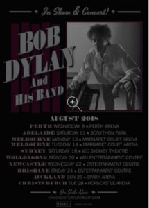 2 nights of Dylan , Melbourne