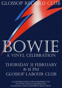 Glossop Record Club: Bowie – A Vinyl Celebration