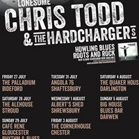Lonesome Chris Todd & the Hardchargers: English tour dates
