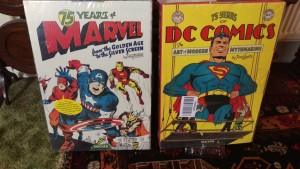 75 Years of Marvel Comics: From the Golden Age to the Silver Screen/75 Years of DC Comics: The Art of Modern Mythmaking