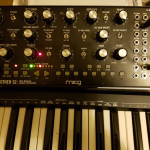 So…  I bought myself a Moog Synth