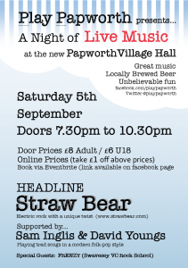 Play Papworth #1 Straw Bear / Sam Inglis & David Youngs / Frenzy