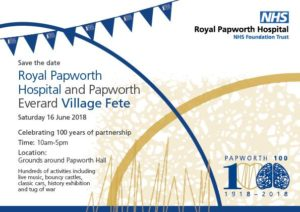 Royal Papworth Hospital centenary village fete