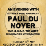 Glossop Record Club: An Evening With Paul Du Noyer