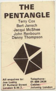 Pentangle: A History in Several Parts