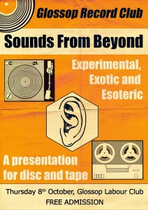 Glossop Record Club's SOUNDS FROM BEYOND