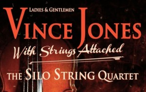 Vince Jones, band and string quartet: getting it just right.