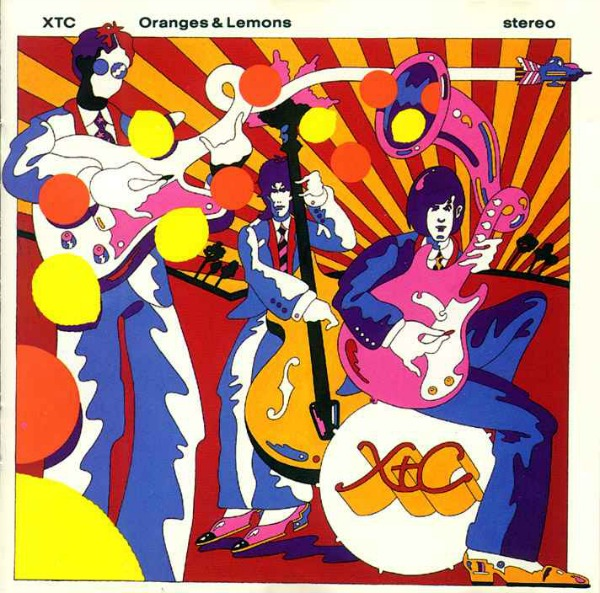 XTC 'Oranges & Lemons' (The Surround Sound Series: CD + Blue Ray)