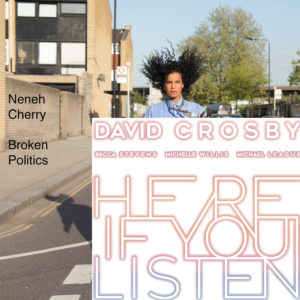 Neneh Cherry 'Broken Politics' / David Crosby 'Here If You Listen'