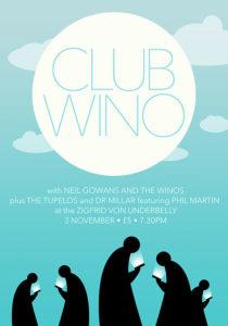 Club Wino rides again