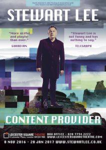 Stewart Lee – Content Provider