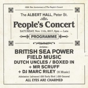 The Peoples Concert: British Sea Power/Field Music/Dutch Uncles/Boxed In