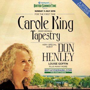 Carole King, Hyde Park