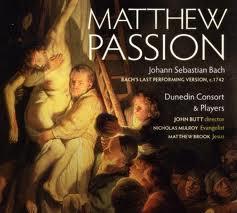 The Dunedin Consort – Bach's Matthew Passion
