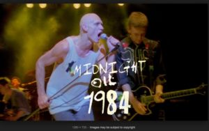 Midnight Oil 1984 – the movie