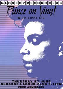 Glossop Record Club: PRINCE ON VINYL – Thursday 9th June