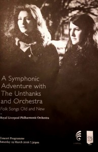 The Unthanks with Royal Liverpool Philharmonic Orchestra