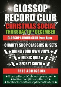 Glossop Record Club's CHRISTMAS SOCIAL